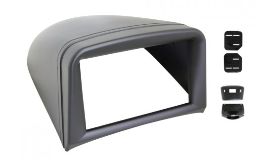 RTA 002.292-2 Double DIN mounting frame , Peugeot 206 1998 >