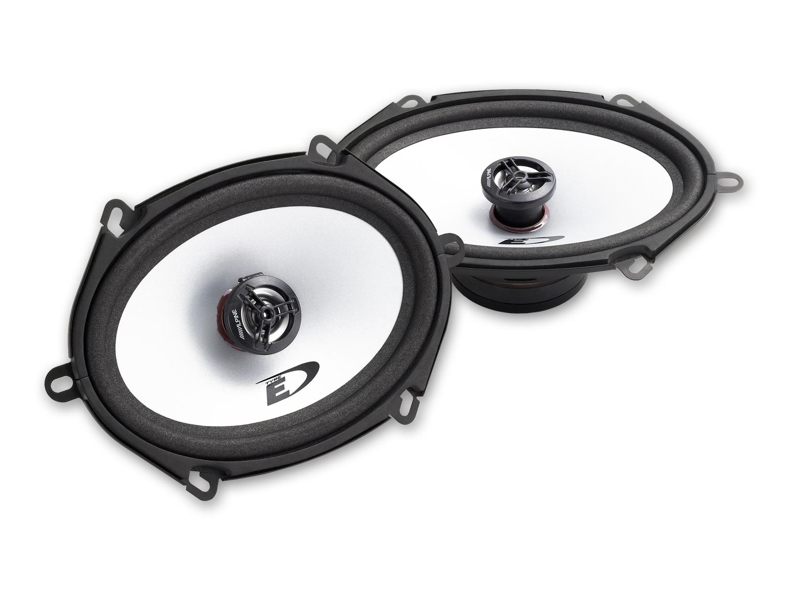Alpine SXE-5725S 12,5 x 17,5cm (5 x 7-Zoll) 2-Wege-Koaxiallautsprecher 1 Paar Lautsprecher 200 Watt