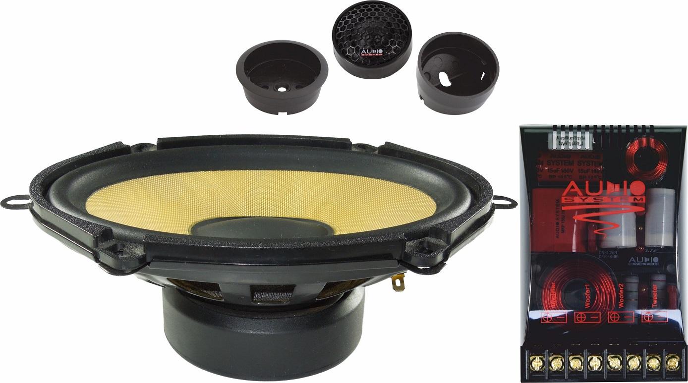 Audio System X 507 EVO 5x7 2-Wege FORD Compo System Lautsprecher Speaker