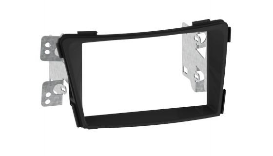 RTA 002.457P1-0 Double DIN Senior bezel , black Hyundai i40 -without Werksnavi- 11 >