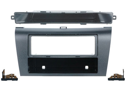 RTA 000.370-0 1 - DIN mounting frame, black ABS version