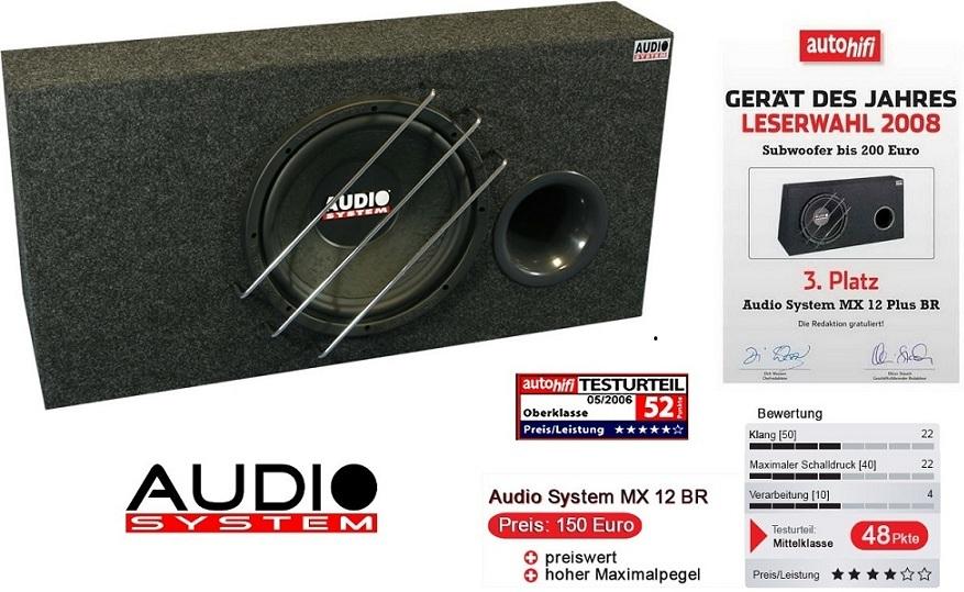 Audio System MX 12 Plus BR Bassreflexgehäuse mit MX12PLUS