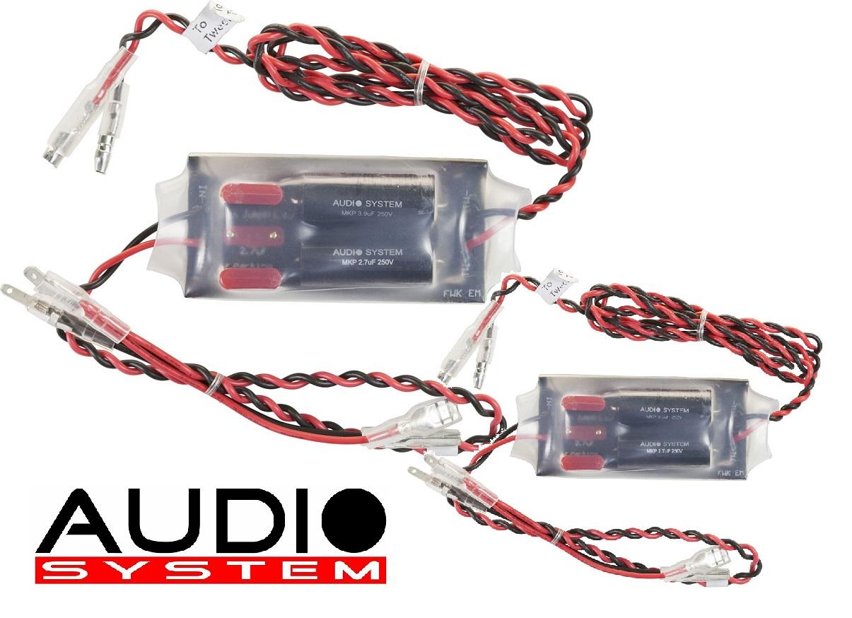 AUDIO SYSTEM FWK TW Frequenzweichen / Crossover 1 Paar (2 Stück) M/R-SERIES