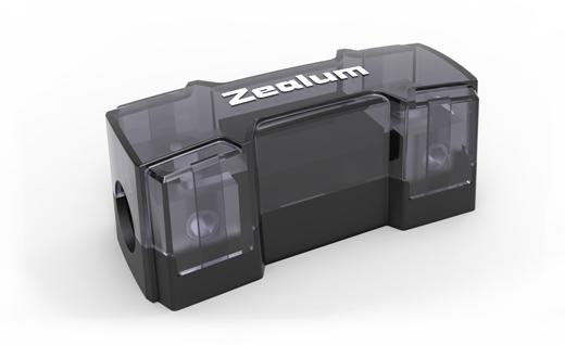 ZEALUM ZFH-42P PURE-Line ANL Fuseholder 2x50/25mm² ANL Sicherungsblock