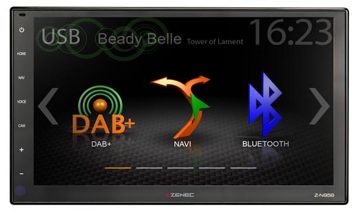 "ZENEC Z-N956 Prime 2-DIN Infotainer mit 9"" HD Display"