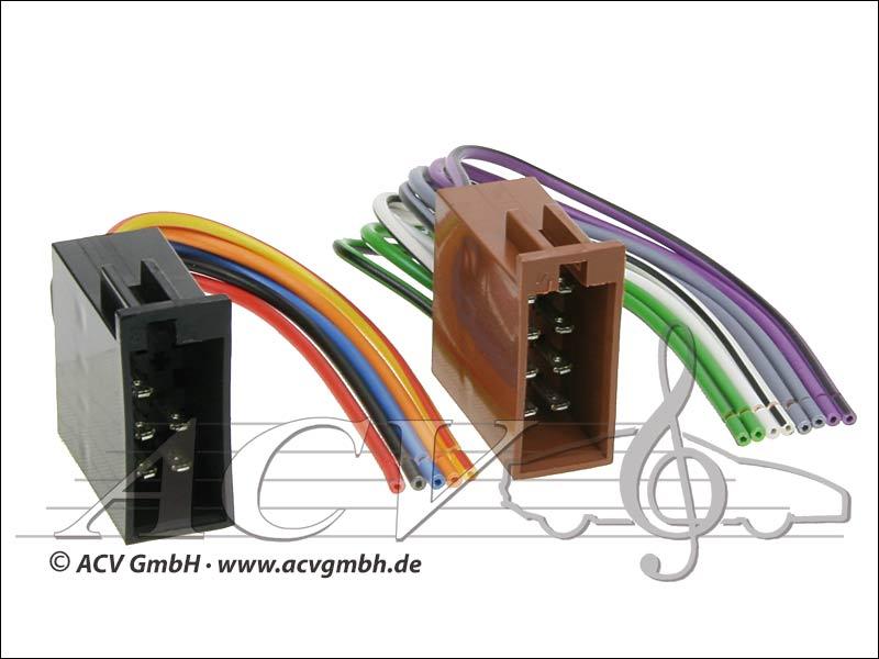 ACV 1320-00 Universal retrofit power kits and speakers