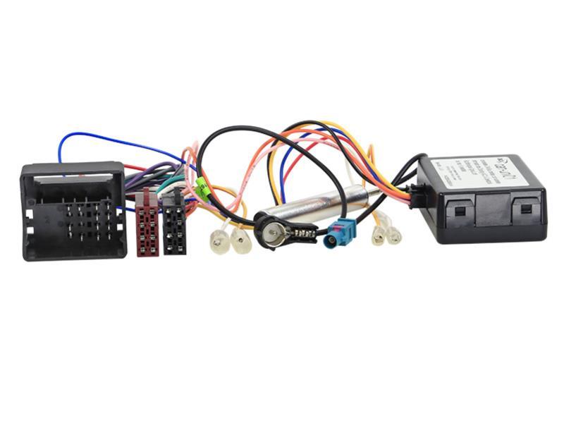 ACV 1041-45-15 CAN-Bus Kit Citroen / Peugeot Quadlock -> Strom + Lautsprecher (ISO) + ISO Antennenanschluss