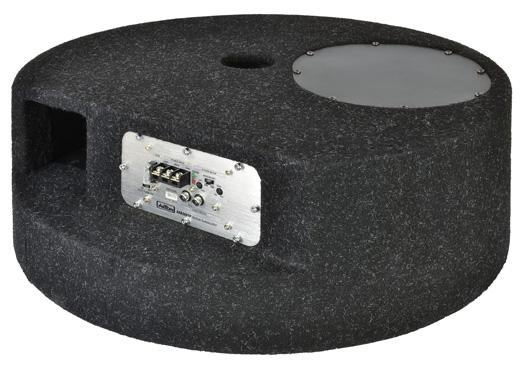 AXTON AXB20STP 20cm Bandpass als Reserverad-Ersatz mit Amp Axton AXB 20 STP