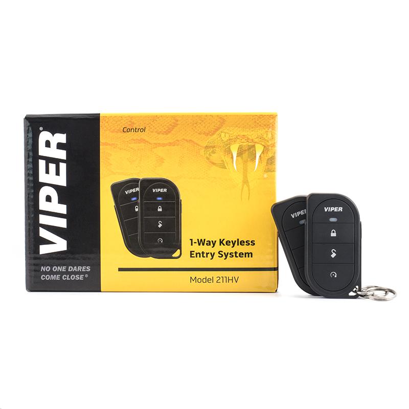 VIPER 211HV Zentralverriegelungs-Steuerung mit zwei 7146V Funk-Fernbedienungen