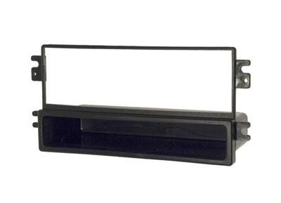 RTA 000.401-0 1 - montage sur rail DIN cadre, ABS noir