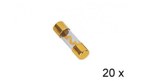 RTA 154.673-2 Fusibles en verre AGU plaqué, 60A