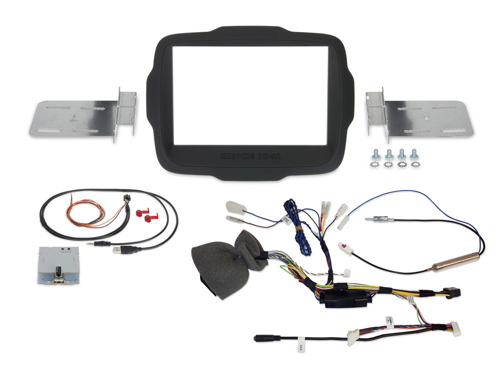 Alpine KIT-8RNG Einbauset für X803D-U (Jeep Renegade) 2DIN Installations-Set