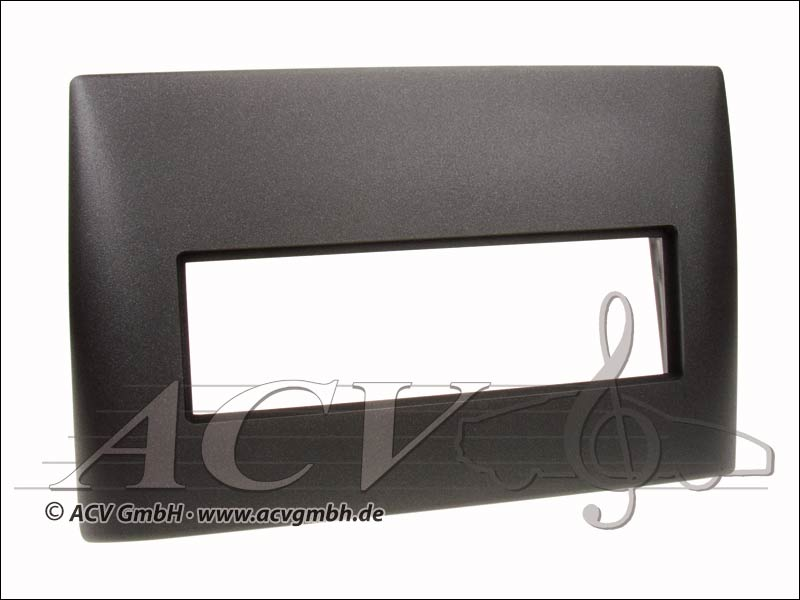 Radio panel rubber touch Fiat Stilo Black