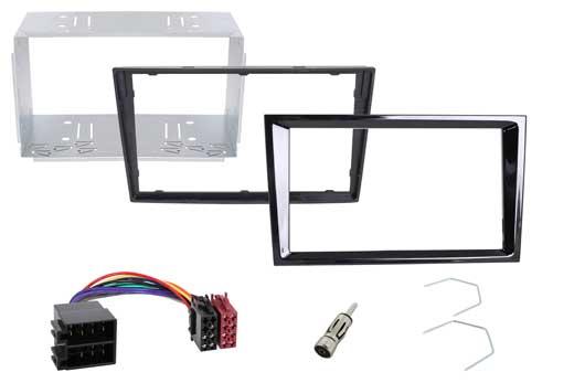Radical R-D032 Montageset für R-D211 und Opel Einbausatz : Radioblende + Adapter