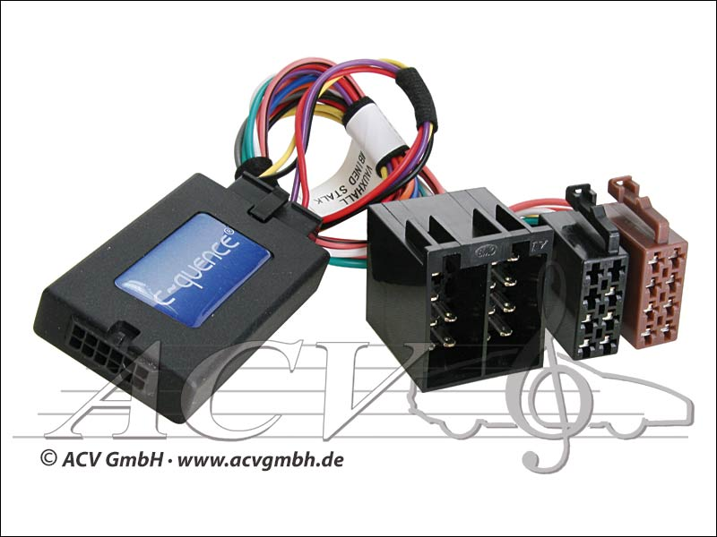 ACV 42-VX-001 steering wheel adapter to Bj.04 Opel -> Becker