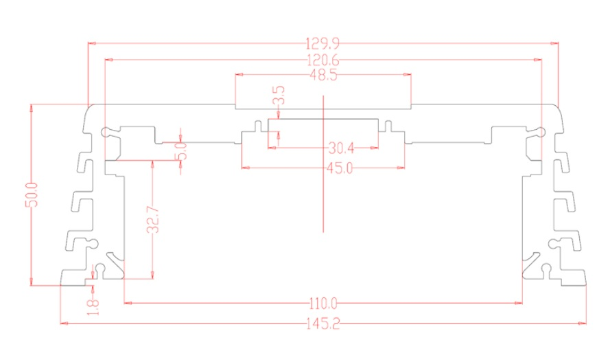 AMPIRE MBM100.4 4-channel amplifier, 4 x 100 watts, Class D AMPIRE MBM 100.4