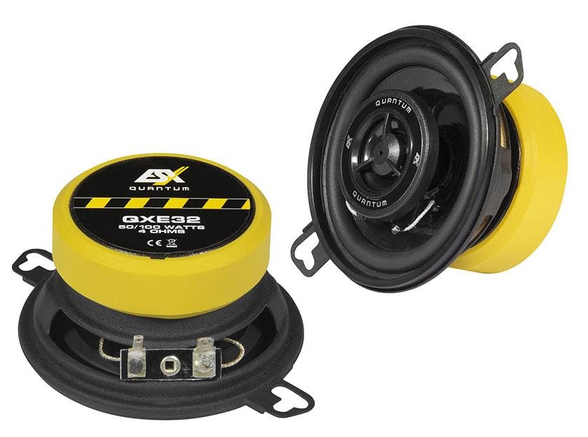 "ESX QXE32 8,7 cm (3.5"") 2-Wege Koax-Lautsprecher (Paar) 100 Watt"