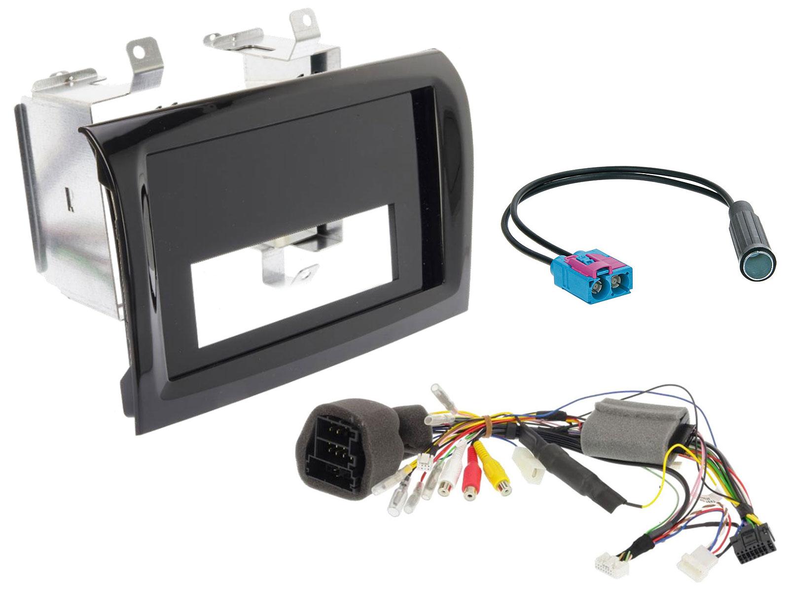 Alpine KIT-H9DUC 2-DIN Installations-Kit für iLX-F903D/INE-F904D/DC im Fiat Ducato, Citroën Jumper, Peugeot Boxer