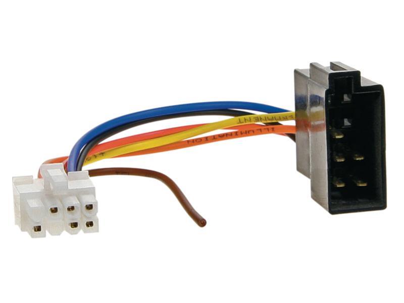 ACV 458004 RAK - > ISO CLARION 8 PIN