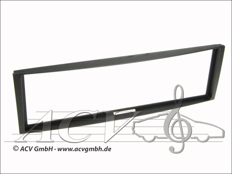 Radio panel rubber touch Renault Megane / Mode / Black Clio