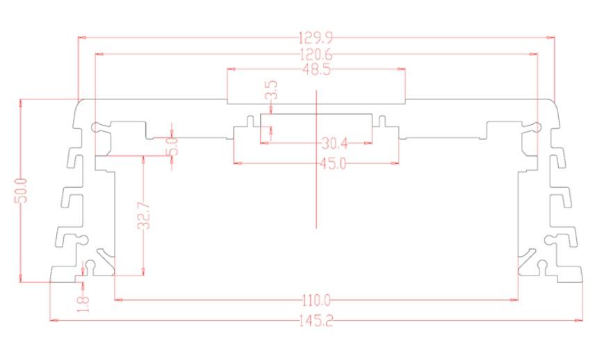 AMPIRE MBM500.1 Mono Endstufe, 1x 500 Watt, Class D