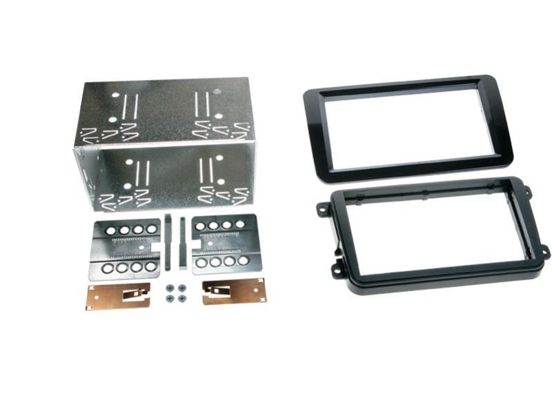 ACV 381320-10-2 2-DIN RB Seat / Skoda / VW Klavierlack / schwarz Radioblende 2-DIN