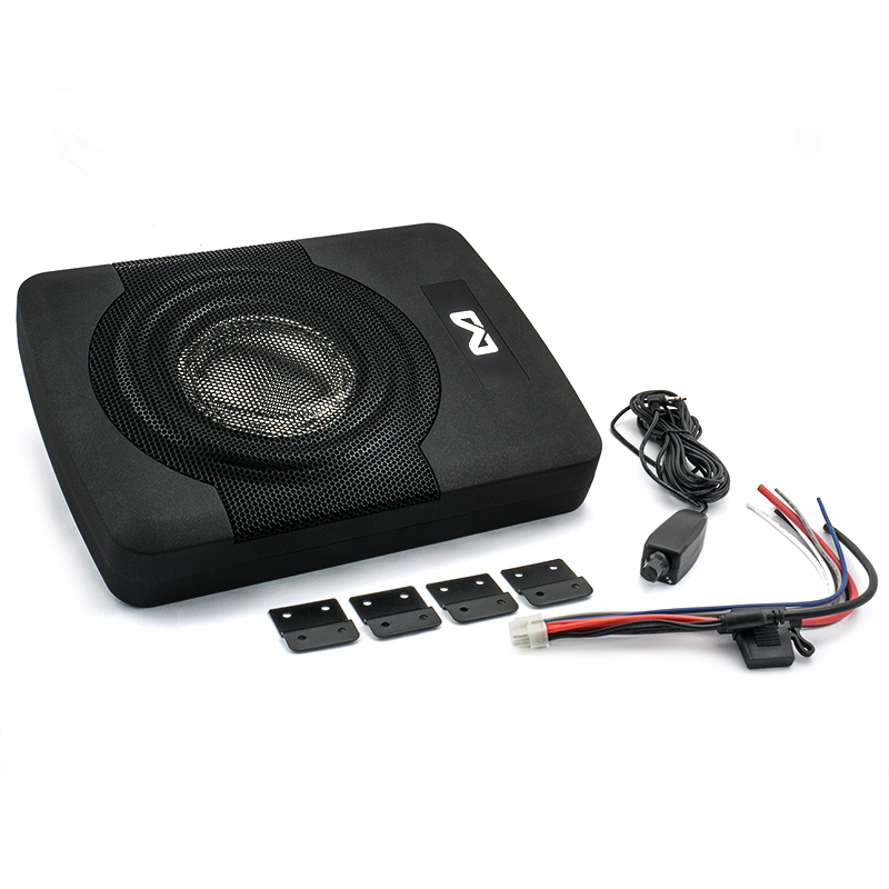 "AMPIRE ACTIVE8-SL Aktiv-Subwoofer, 20cm (8'') 250/400 Watt mit ""Auto Turn-On"""