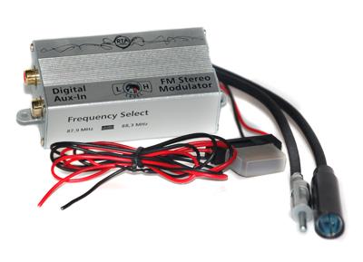 RTA 007.002-0 AUX IN - fréquence FM numérique convertisseur