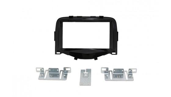 RTA 002.289P0-0 Double DIN Senior bezel , black Citroen C1 / Peugeot 108 / Toyota Aygo 14 >