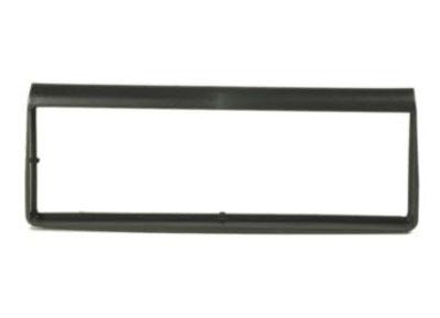 RTA 000.311-0 1 - DIN mounting frame, black ABS