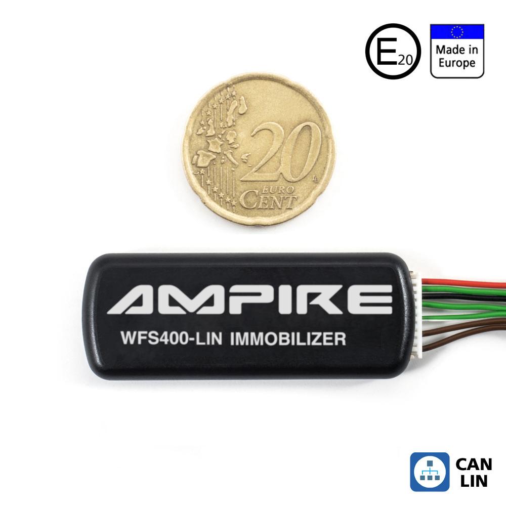 AMPIRE WFS400-LIN CAN/LIN-Bus Wegfahrsperre mit Code-Entschärfung (U333_76_10)