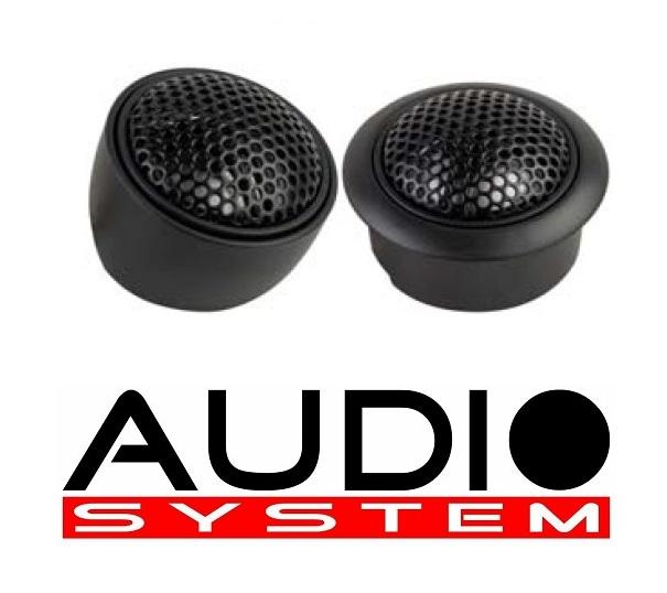 Audio System CARBON TW24 Hochtöner 1 Paar Tweeter Gewebe-Neodymhochtöner