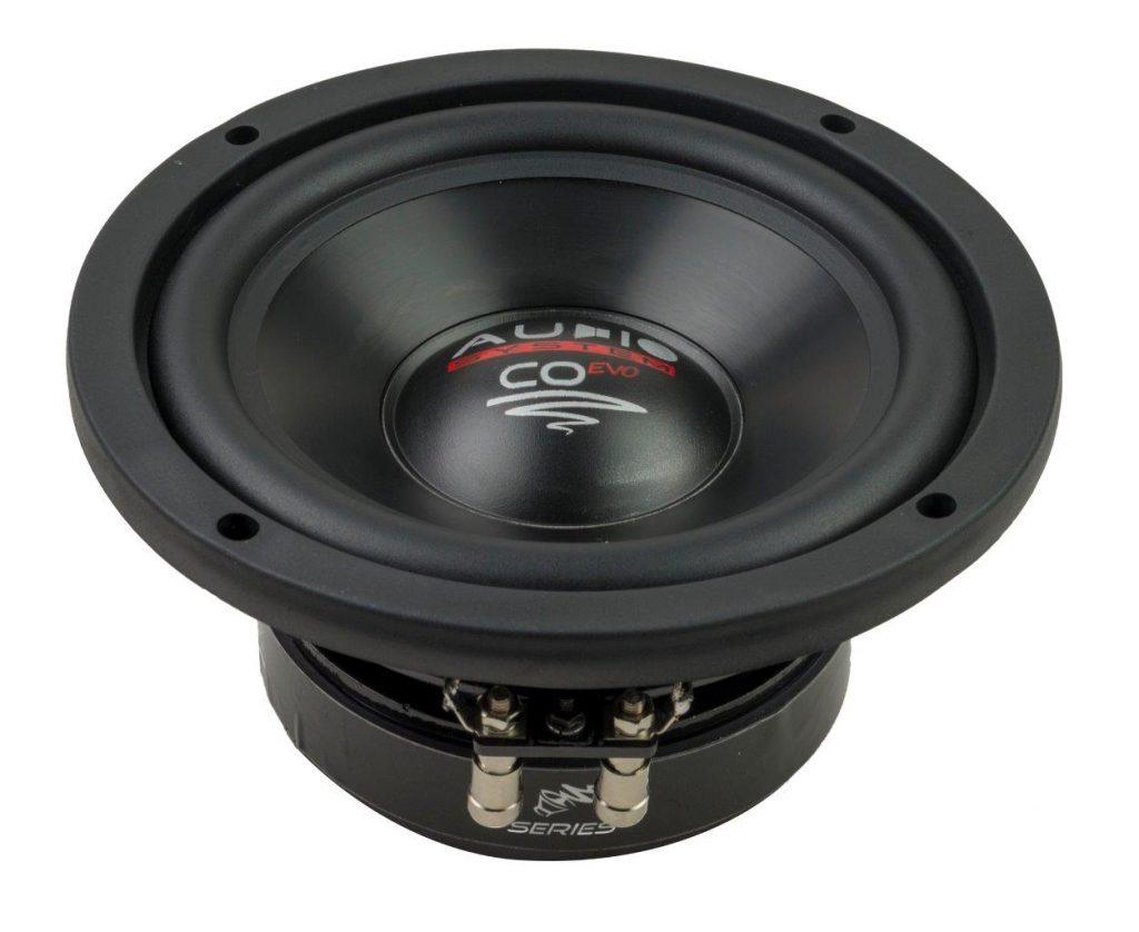 Audio System CO 06 DC EVO 16,5 cm CO-SERIES Subwoofer 240 Watt, 4 Ohm, DOPPELSCHWINGSPULE