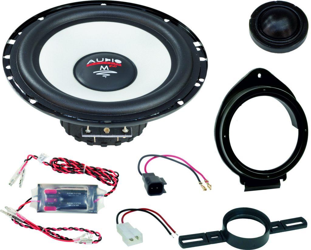 AUDIO SYSTEM MFIT OPEL MOKKA A EVO2 90W PERFECT FIT COMPO SYSTEM Lautsprecher für OPEL MOKKA A 2012 ->