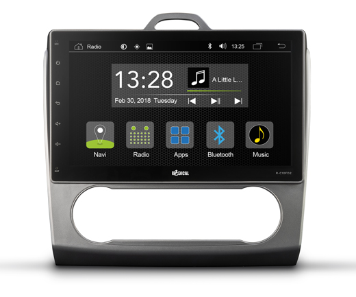 RADICAL R-C10FD2 Ford Focus Infotainm. Android T8 Autoradio Navigation für Ford Focus