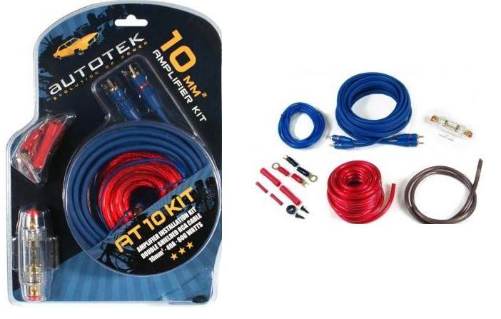 Autotek Autotek AT10 Kit câble AT10KIT 10mm KIT