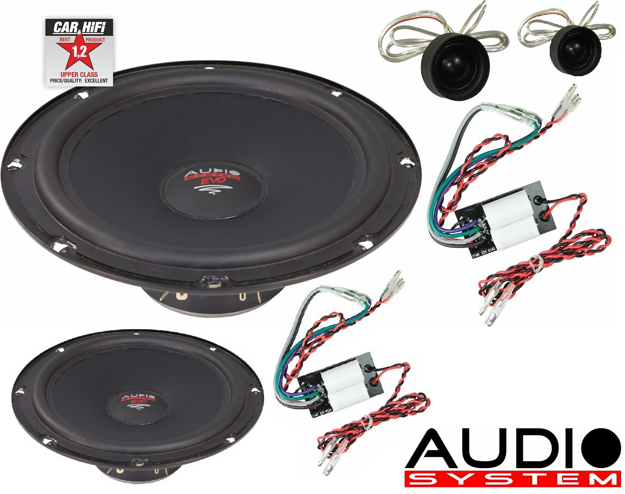 Audio System X 200 EM EVO X--ion SERIES 20cm 2-Wege Lautsprecher System
