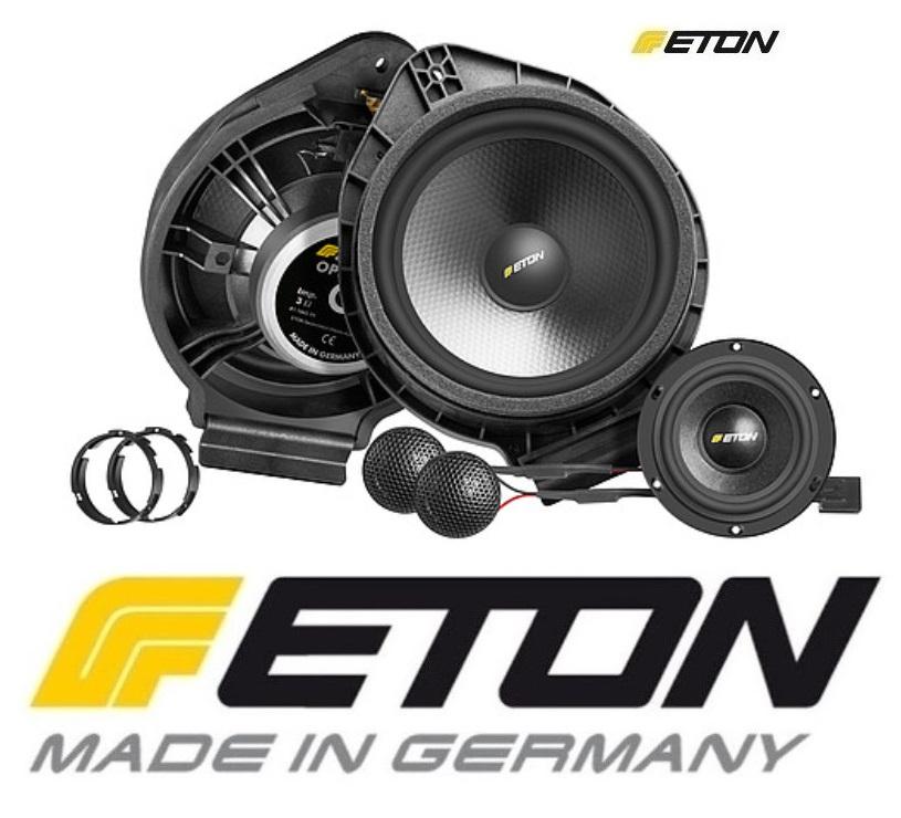 ETON OPEL F2.1 Upgrade Plug and Play 2-Wege Front-System mit Centerlautsprecher für Opel Adam, Opel Astra J, Opel Cascada, Opel Insignia, Opel Meriva, Opel Zafira Tourer, Chevrolet Malibu, Buick Cascada