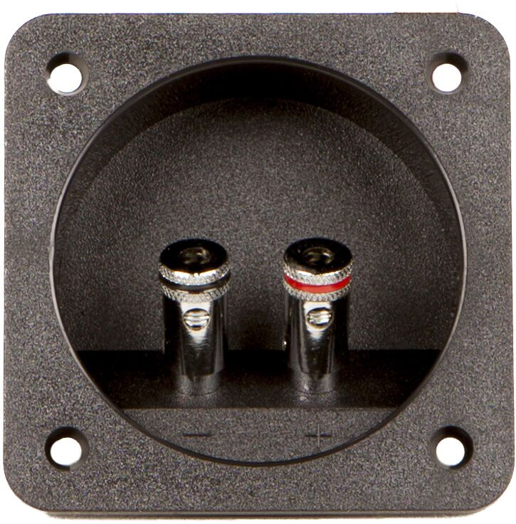Audio System TERMINAL 2 Subwoofer-Terminal 2-poliges Pushterminal Stückpreis