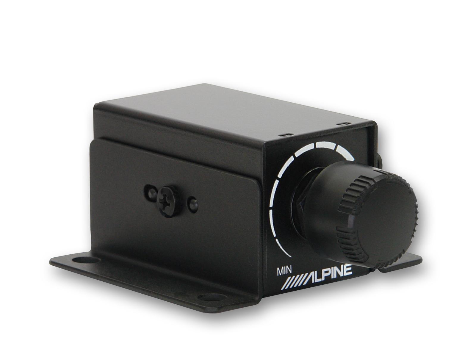 Alpine RUX-KNOB2 Bassfernbedienung für Alpine Verstärker