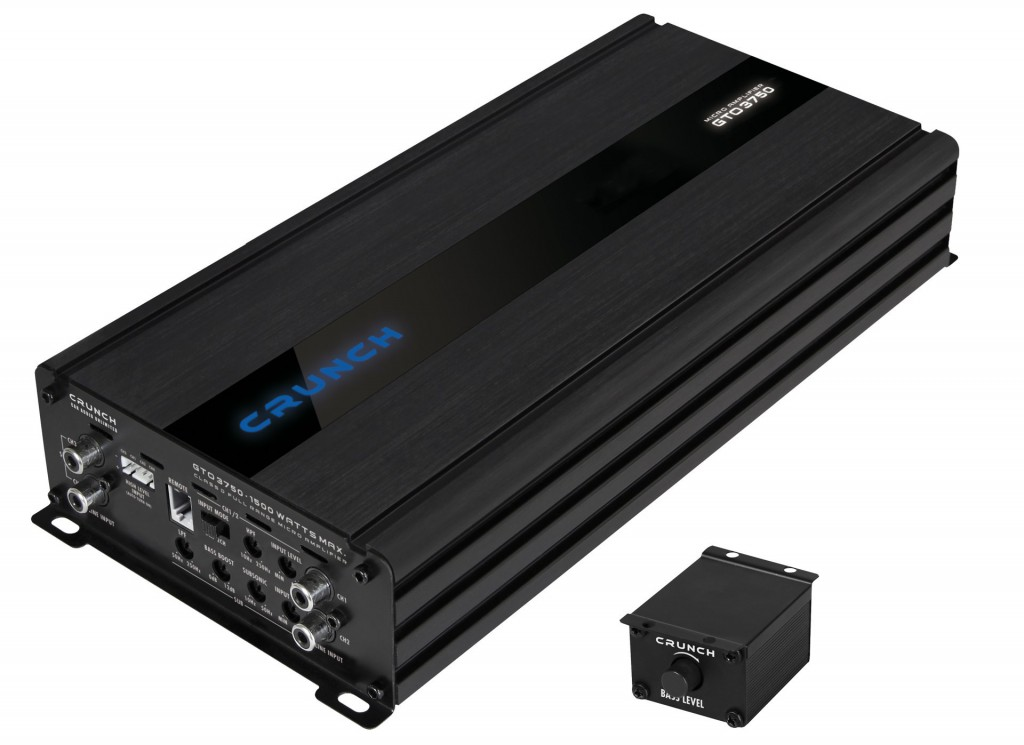 CRUNCH GTO-3750 DIGITAL 3CH AMP
