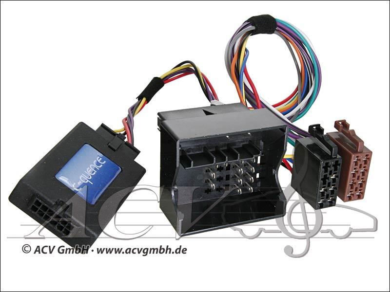 ACV 42-FO-402 FORD adattatore del volante con Quadlock -> Zenec