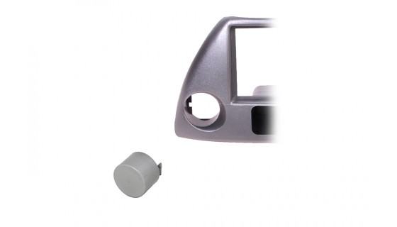 RTA 000.235-AB Accessories for mounting frames , switch cover SILVER