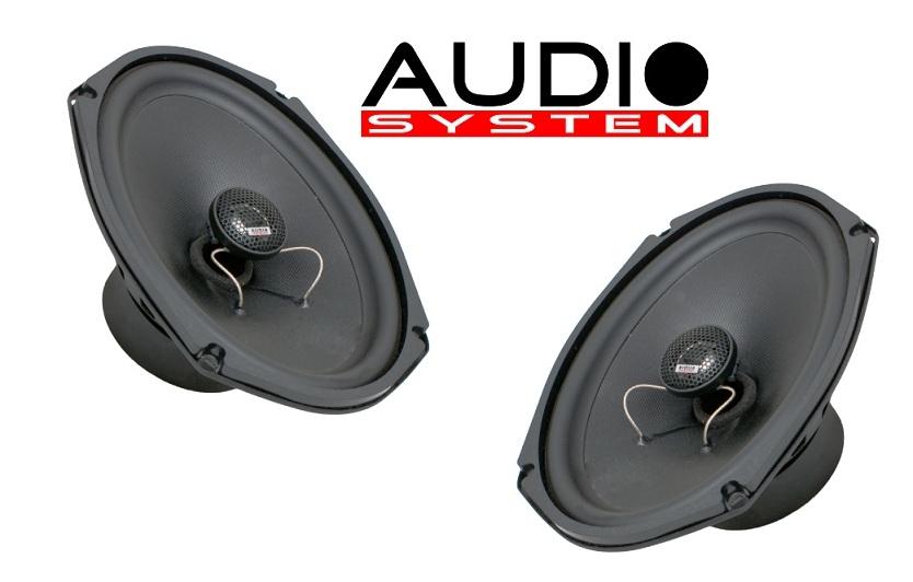 "Audio System MXc 609 EVO 6""x9"" Oval-Coaxialsystem MXC609 Lautsprecher Speaker Koax 1 PAAR"