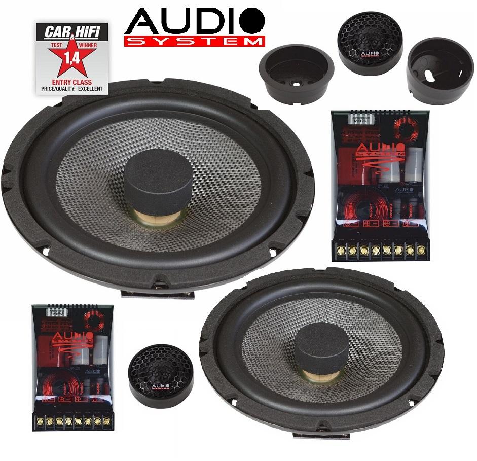 Audio System X 165 FLAT EVO 2 X-Series 16,5cm flaches 2-Wege System