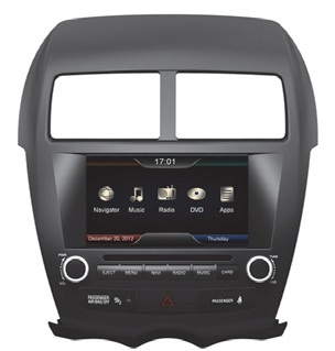 ESX VN710-MT ASX naviceiver double DIN / Navigation for Mitsubishi ASX 2010>