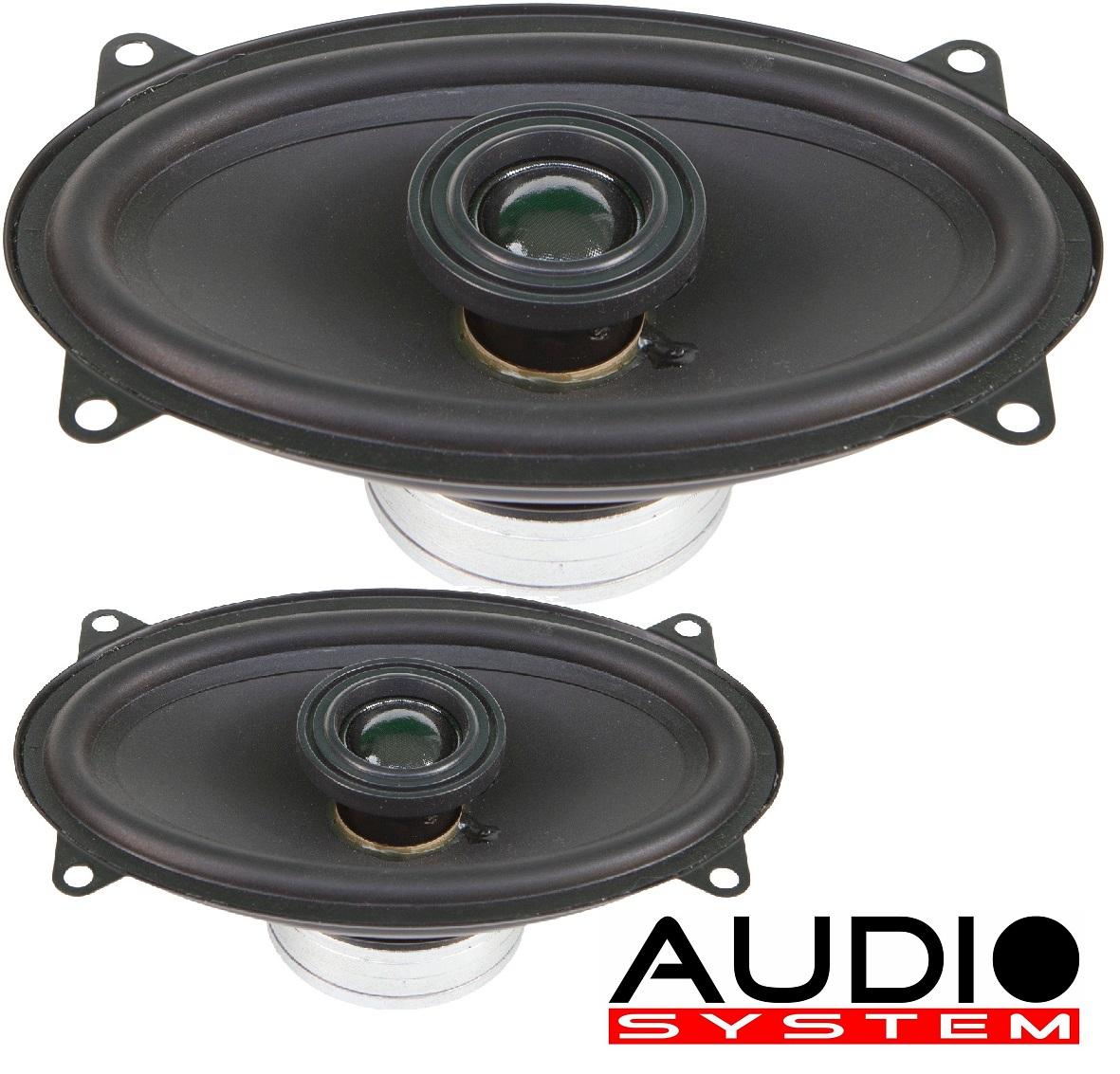 Audio System XC 406 EVO X-SERIES Neodym Coaxial System 4x6 , 125 Watt 1 Paar