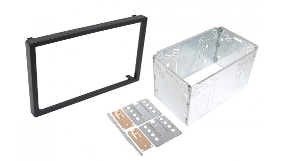 RTA 002.009-0 Insert frame double DIN , for clips of 182x103 mm