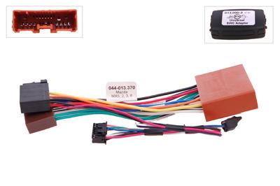 RTA 013.370-0 Lenkradadapter für Fahrzeuge mit Lenkradfernbedienung ohne Can Bus Steuerung für Mazda 2, 3, 5, 6, MX5, RX