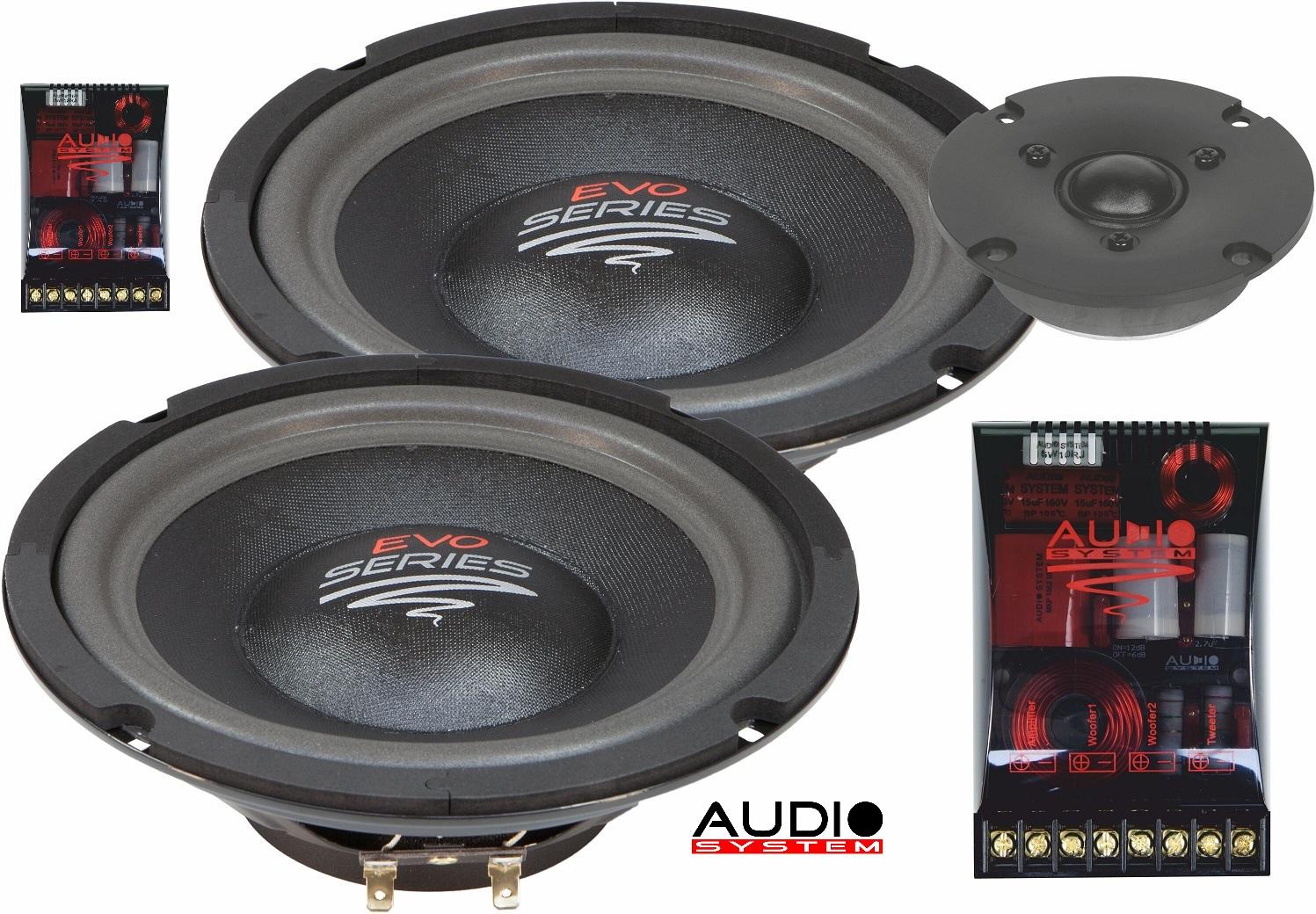 Audio System R 2/20 FLAT 2 voies Composystem 20cm pour la zone arrière